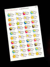 Clean all the things Cleaning Bucket Stickers - S248