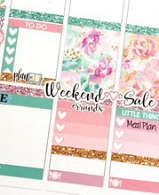 Errands Fancy Script Word Stickers - S221