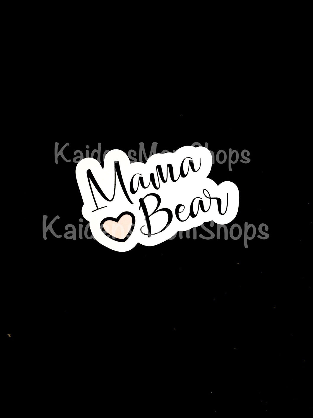 Mama Bear Die Cut