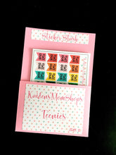 Teenies Set 1 - Work / Finance Collection - 5 Teenie Sticker Sheets and a Pocket