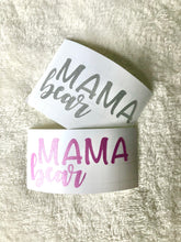 Vinyl Mama Bear Stickers