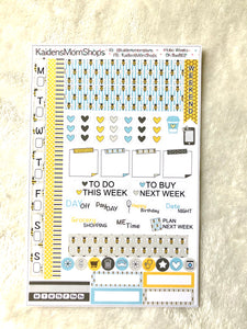 Hobonichi Weeks Sticker Kit - Oh BaeBEE