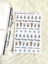 Winter Sampler Stickers
