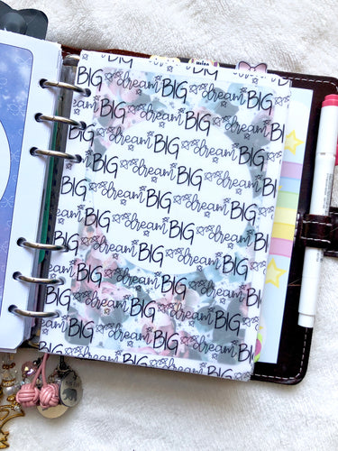 Dream Big Planner Vellum - 8 X 10 Vellum Sheet