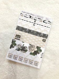 Farmhouse B6 Planner Washi Set
