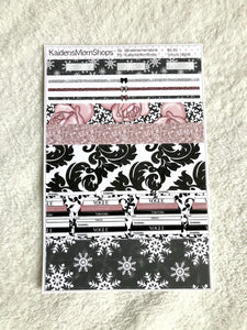 Snowy Nights B6 Planner Washi Set