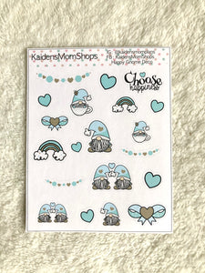 Happy Gnome Deco Mini Sticker Sheet