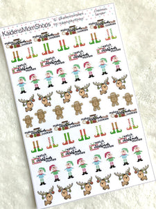 Christmas Sampler Stickers