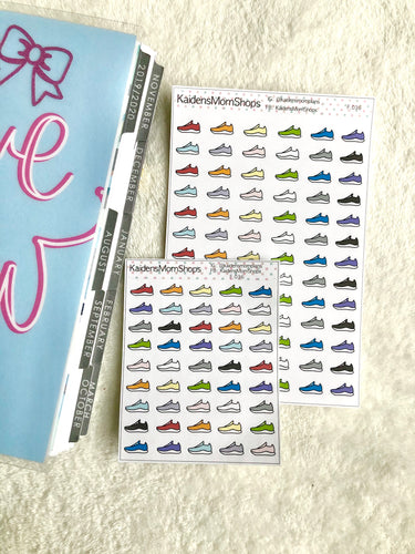 Sneakers Runners - Full or Mini Sheet - F.036