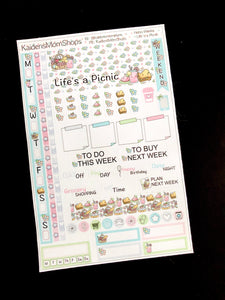 Hobonichi Weeks Sticker Kit - Life's a Picnic
