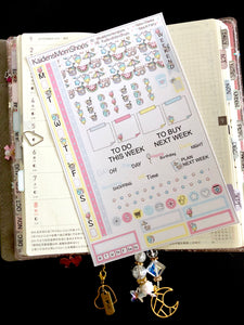 Hobonichi Weeks Sticker Kit - Beach Party