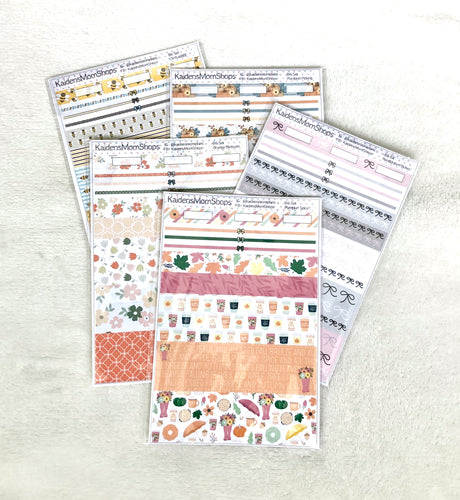 B6 Washi Set Grab Bag - Not Oops - 5 Sheets