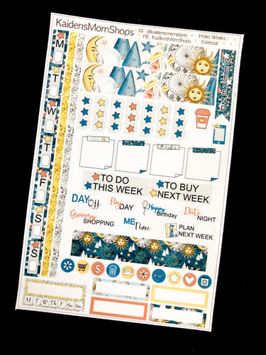 Hobonichi Weeks Sticker Kit - Celestial