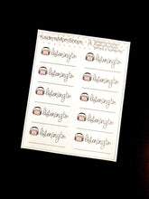 Listening to AudioBooks Mini Sticker Sheet - Handlettered