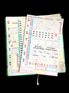 Hobonichi Weeks Sticker Kit - Confetti
