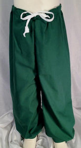 Boys' Robin Hood or medieval pants, front. Also perfect for renaissance, pirate, colonial or other living history characters.