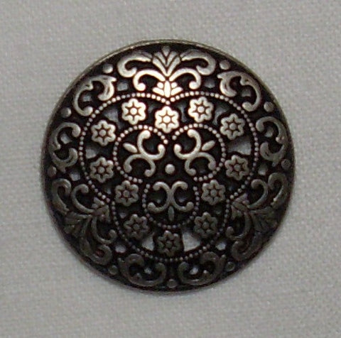 Filigree Button - 1 Dozen