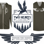 Two Hearts Flight Crew Zip-Up