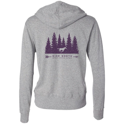 Ride North Zip-Up - Purple