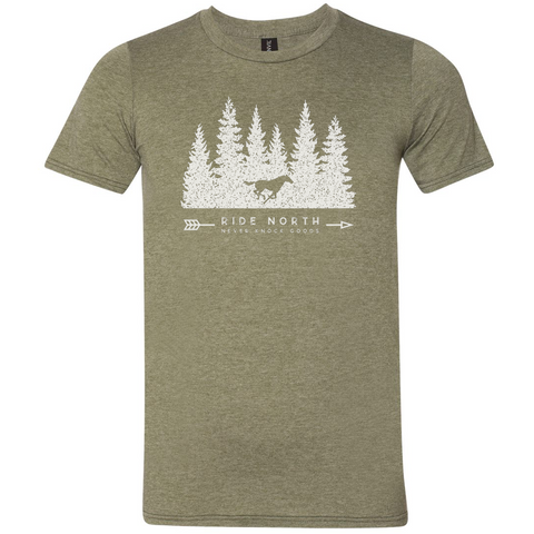 Unisex Ride North T-Shirt