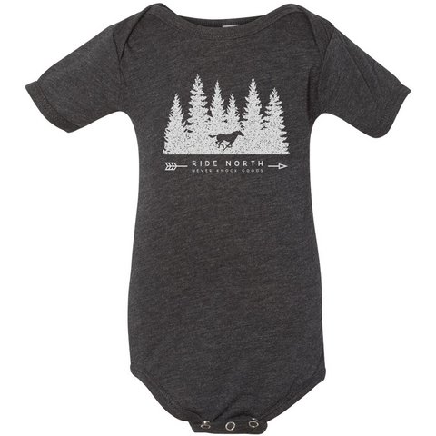Ride North Onesie