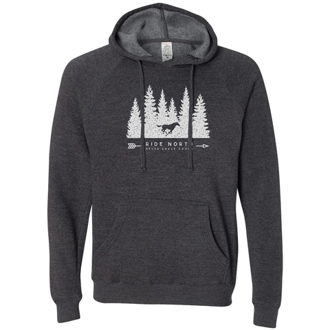 Ride North Pullover: Heather Grey