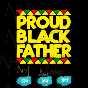 Proud Black Father (digital download)