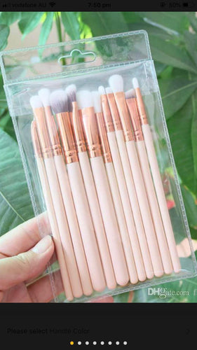 12 piece eyeshadow brush set