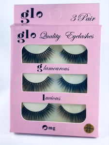 Glo 3D Lashes Range = 45 Styles to choose from