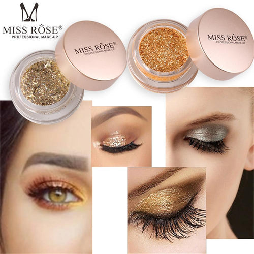 Miss Rose Professional Makeup Glitter - 10 colours to choose from