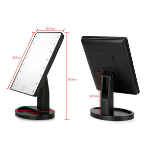 LED Makeup mirror  (Black Only)