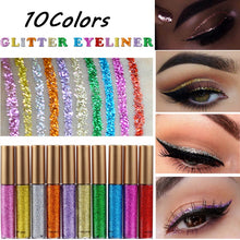 Load image into Gallery viewer, INDIVIDUAL Handaiyan Glitter Liquid Eyeliners