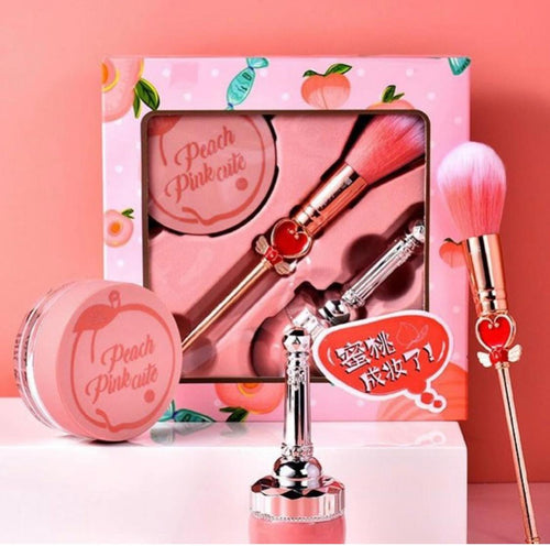 PEACH PINK CUTE GIFT SET