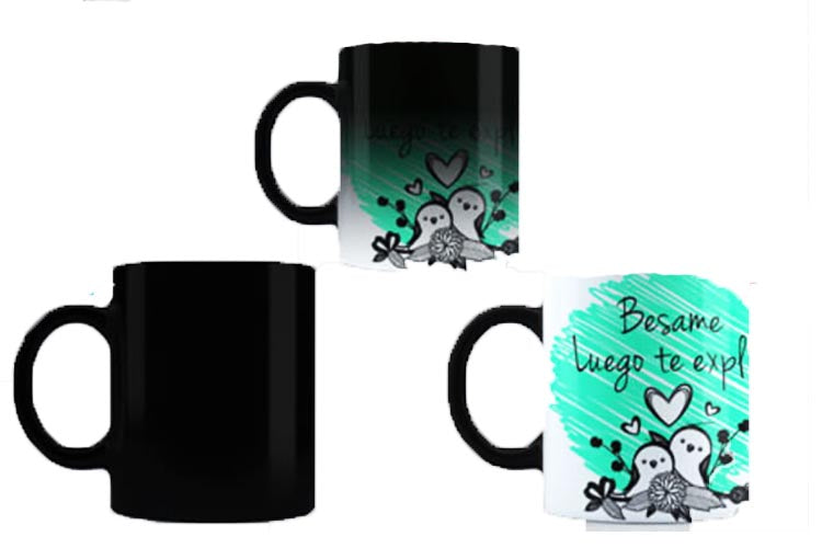 Taza Magica Sublimada - Rivers Print