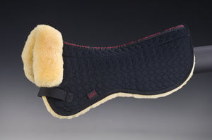 Half Pad Ultra Open Spine - Horsedream Importers - best sheepskin saddle pads