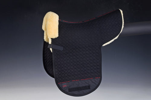 Shaped Pad (Dressage) - Horsedream Importers - best sheepskin saddle pads