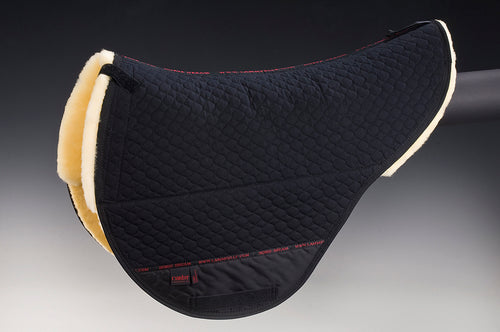 Treeless Saddle Pad w/ Full Sheepskin - Horsedream Importers - best sheepskin saddle pads