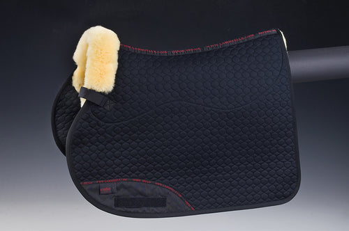 Square Pad (Jumping) - Horsedream Importers - best sheepskin saddle pads