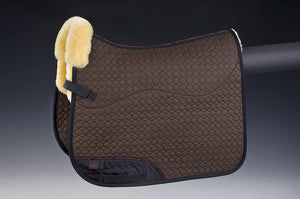 Square Pad (Dressage) - Horsedream Importers - best sheepskin saddle pads