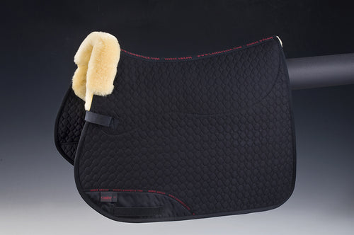 Square Pad (General Purpose) - Horsedream Importers - best sheepskin saddle pads