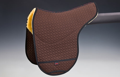 Saddlepad Champ for Basic and Premium Bareback Pads - Horsedream Importers - best sheepskin saddle pads
