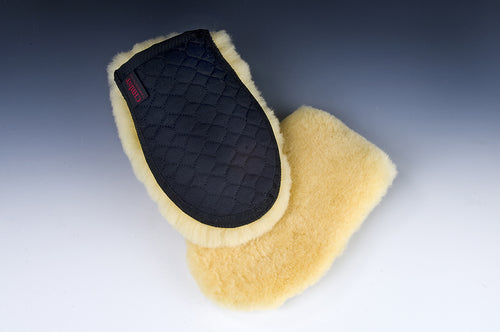 Grooming Glove - Horsedream Importers - best sheepskin saddle pads