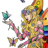 Butterfly Princess Fairy
