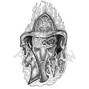 Skeletal Firefighter