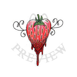 Strawberry Filigree 02