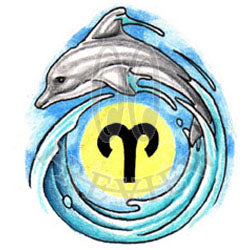 Aries Dolphin Wave