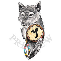 Capricorn Wolf Shield