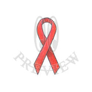 Flat Tail Awareness Ribbon