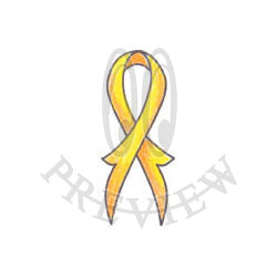 High Split Tail Awareness Ribbon