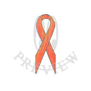Flat Side Awareness Ribbon